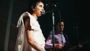 Monika Brodka i Krzysztof Zalewski na koncercie Unplugged