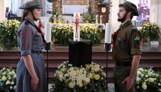 Urna z prochami prezydenta Gdańska Pawła Adamowicza