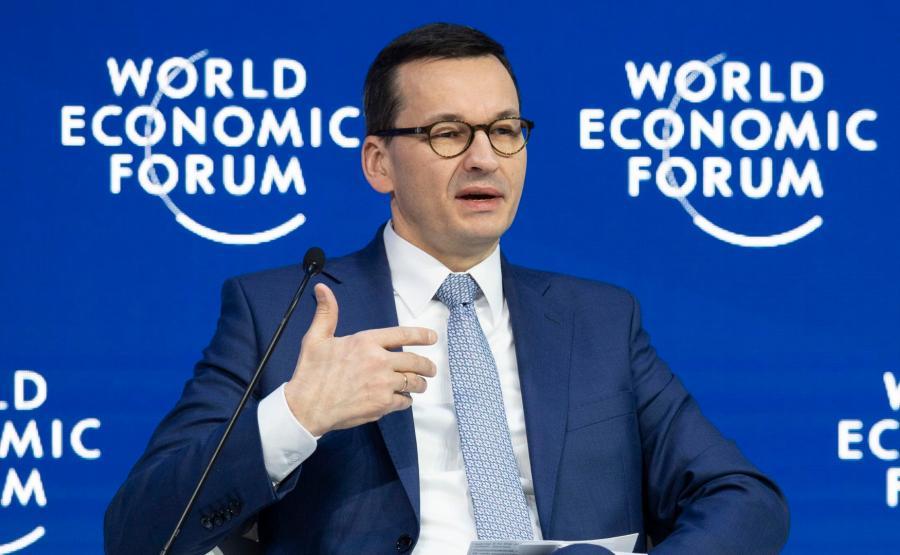 premier Mateusz Morawiecki w Davos
