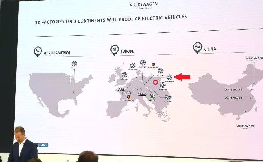 Polska na mapie Volkswagena