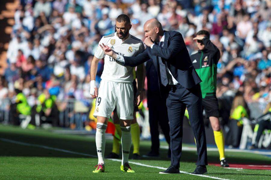 Zinedine Zidane i Karim Benzema