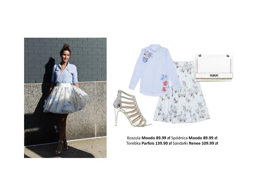 Ubrania w modne wzory. STYLIZACJE na wiosnę 2019