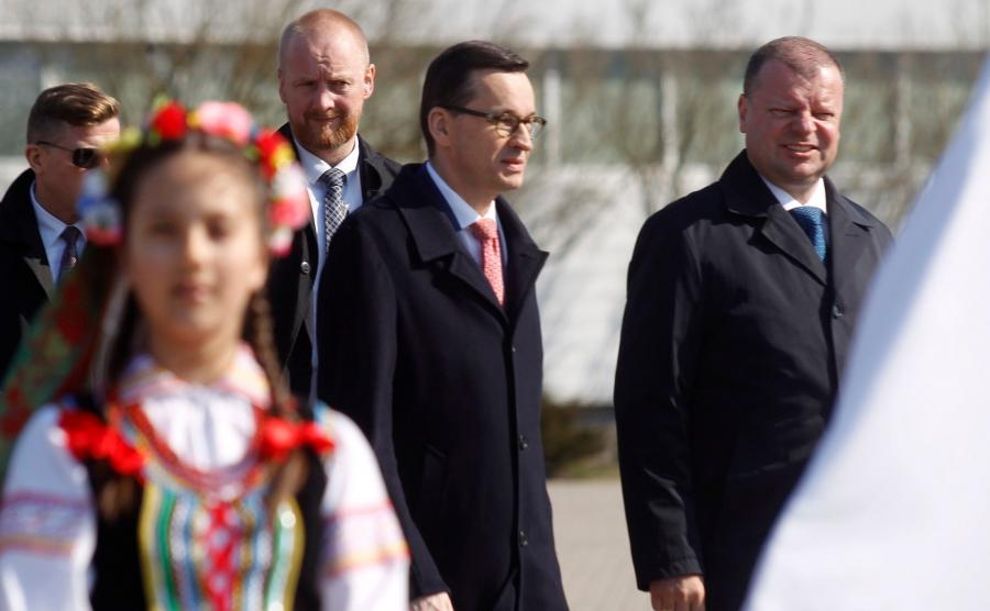 premier Mateusz Morawiecki w Możejkach