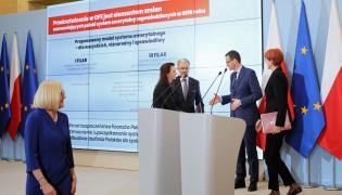 Jerzy Kwieciński, Mateusz Morawiecki, Elżbieta Rafalska, Gertruda Uścińska