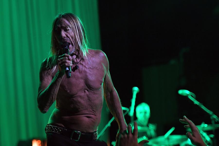 Iggy Pop podczas koncertu w Sydney, 15 kwietnia 2019 roku