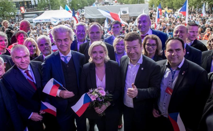 Spotkanie eurosceptyków w Pradze