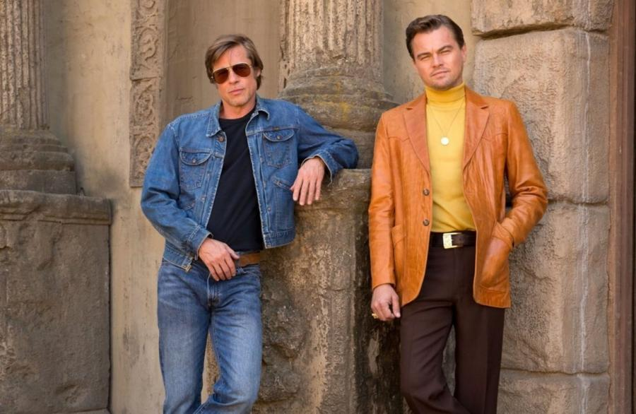 Brad Pitt oraz Leonardo Di Caprio w filmie Quentina Tarantino \