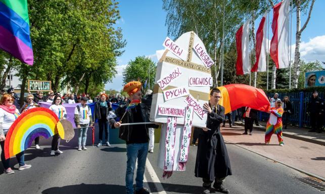 Manifestacja w Toruniu
