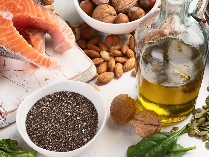 Produkty bogate w zdrowe tłuszcze