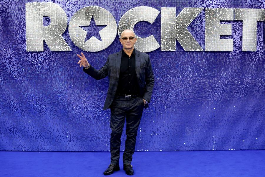 "Bernie Taupin  na premierze filmu ""Rocketman"""