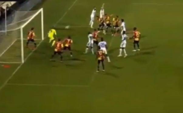 Michał Pazdan strzela gola dla Ankaragucu