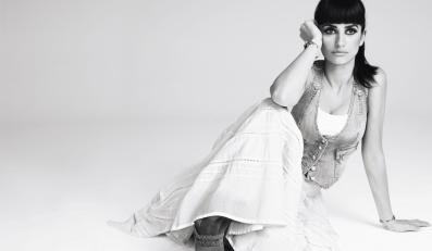 Penelope Cruz pozowała w wiosenno-letniej kolekcji Mango