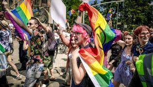 Pierwszy Marsz Równości w Częstochowie w 2018 r.
