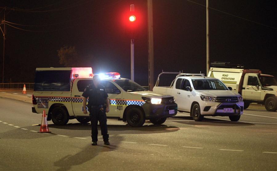 Policja w australijskim Darwin