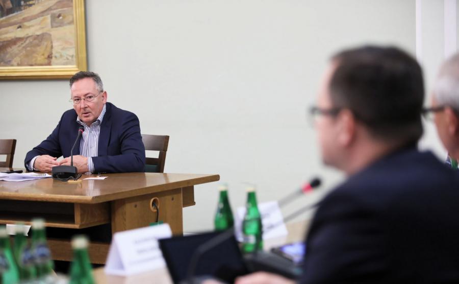 Bartłomiej Sienkiewicz przed komisją śledczą