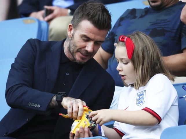 David i Harper Beckhamowie