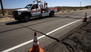 california trzęsienie ziemi