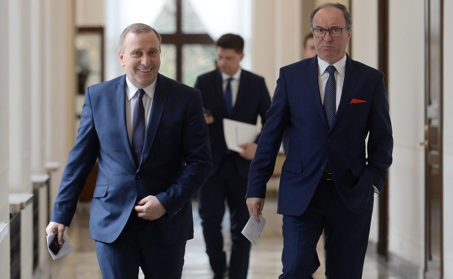 Grzegorz Schetyna i Włodzimierz Czarzasty