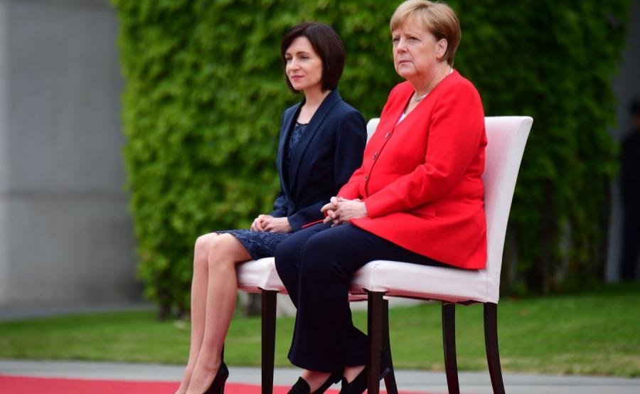Maia Sandu Angela Merkel