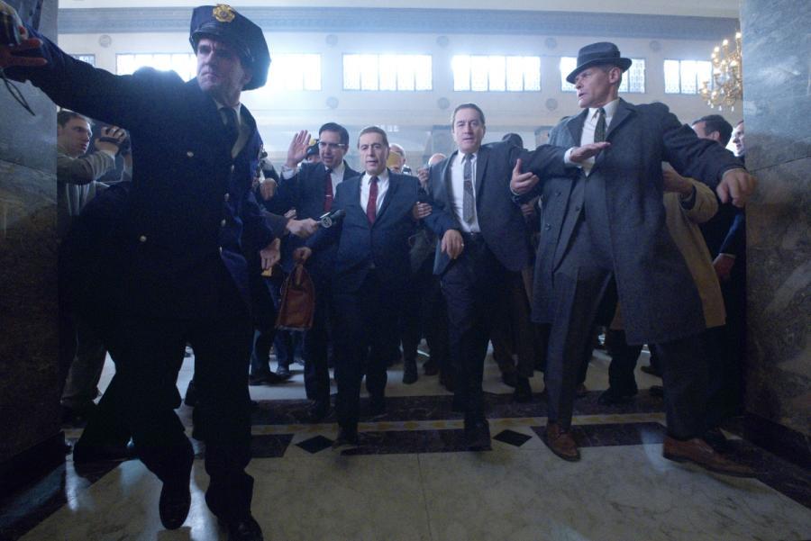 Al Pacino i Robert De Niro w filmie Martina Scorsese \