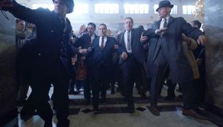 "Al Pacino i Robert De Niro w filmie Martina Scorsese ""Irlandczyk"""