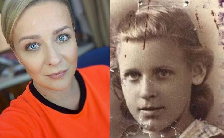 Aneta Zając i zdjęcie jej babci