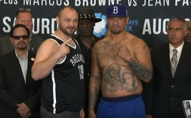 Adam Kownacki i Chris Arreola