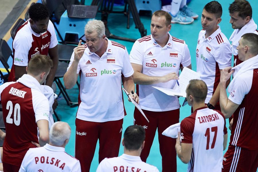Trener reprezentacji Polski siatkarzy Vital Heynen