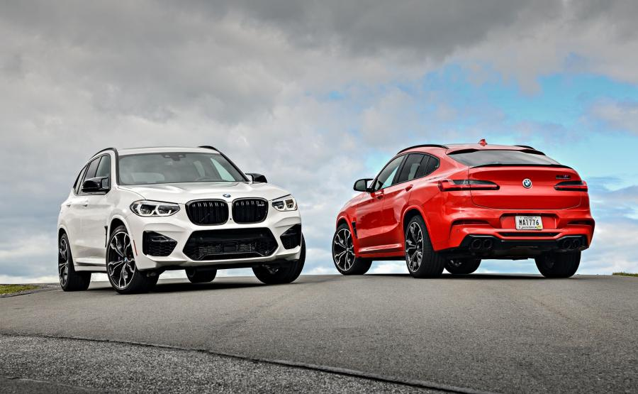 BMW X3 M Competition i X4 M Competition
