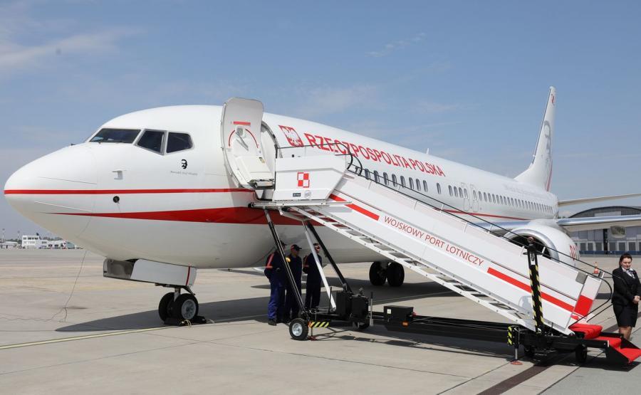 Rządowy Boeing 737