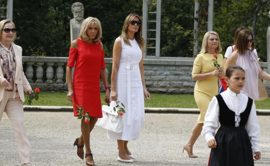 Szczyt G7. Żony przywódców państw