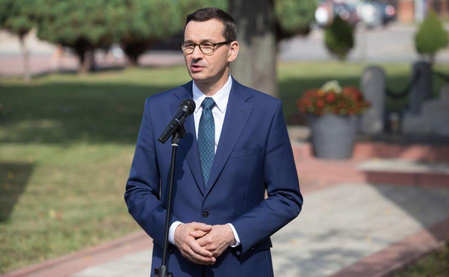 Premier Morawiecki Mateusz