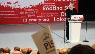 Jarosław Kaczyński prezes Prawo i Sprawiedliwość