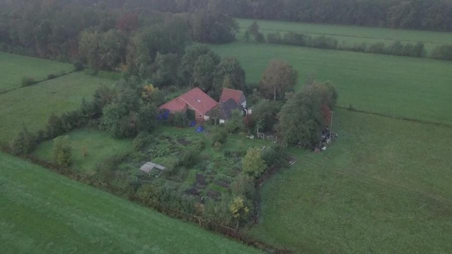 Dom, w którym ukrywała się holenderska rodzina