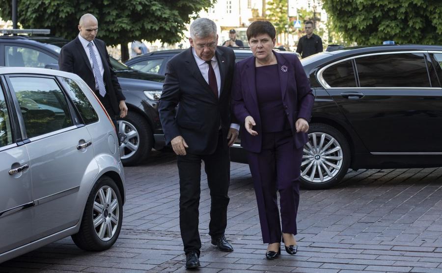 Stanisław Karczewski i Beata Szydło