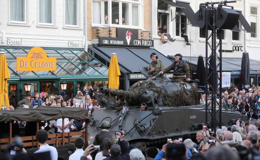 Parada w Bredzie
