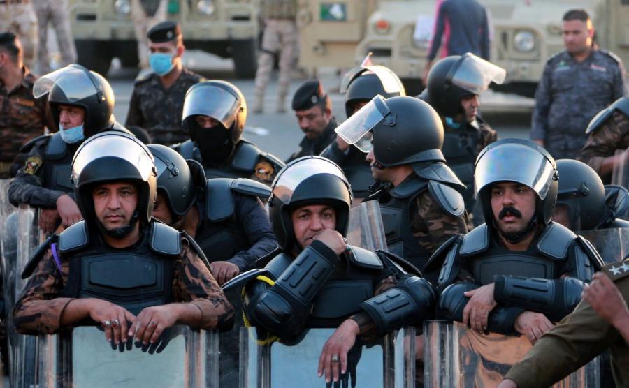 Protesty antyrządowe w Iraku