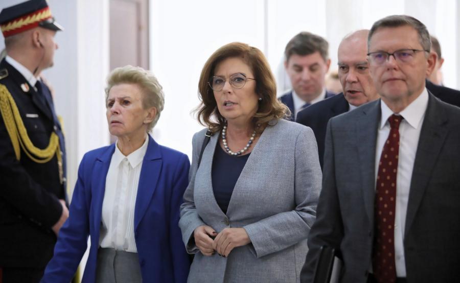 Iwona Śledzińska-Katarasińska, Małgorzata Kidawa-Blońska
