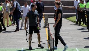 Roger Federer i Alexander Zverev