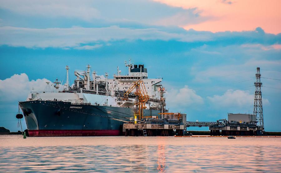 Transport LNG w Kłajpedzie