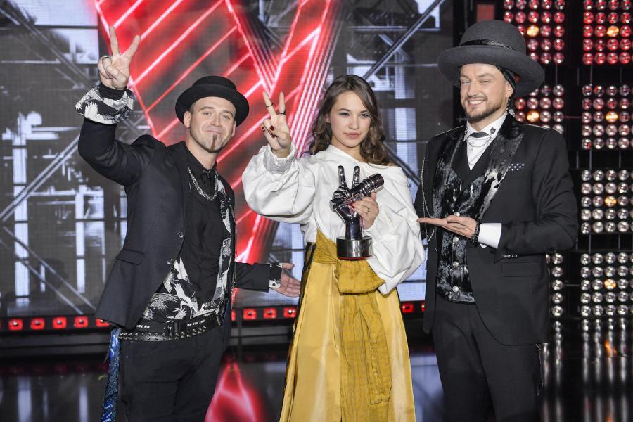 Baron, Tomson, Alicja Szemplińska w \