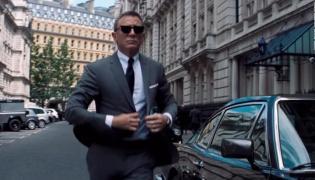 "Daniel Craig jako agent 007 w ""No Time To Die"""