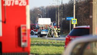 Strażacy w Warszawie