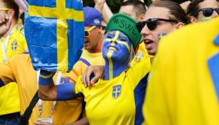 Kibice Szwecji