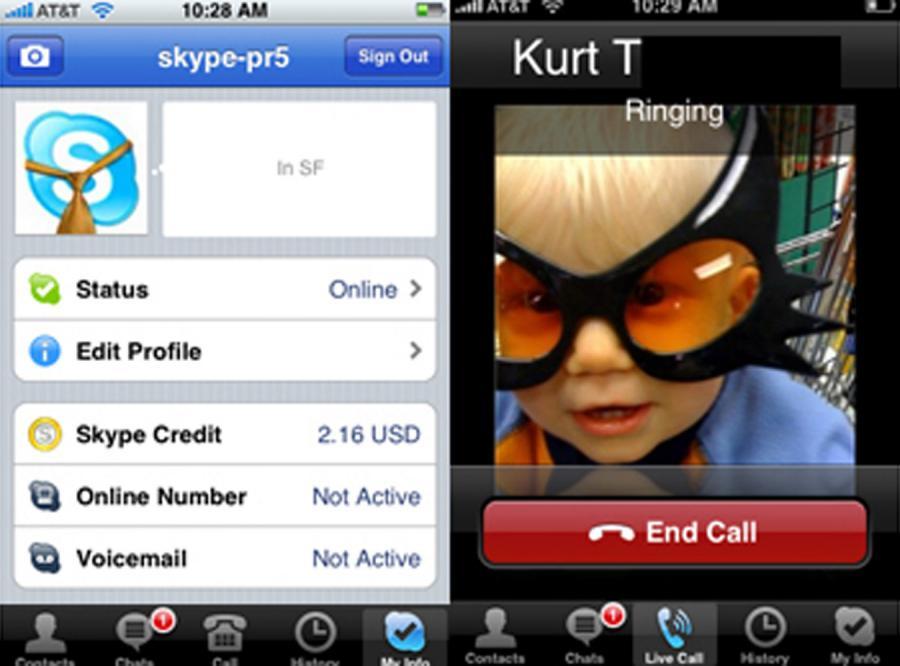 Skype na iPhone\'a - już od dzisiaj