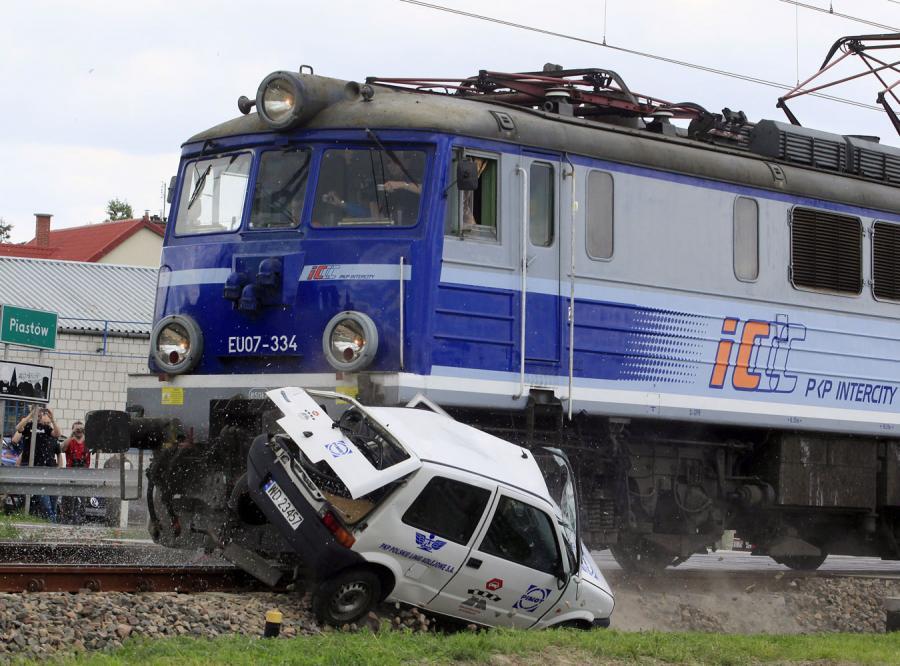 Oto najgłupszy kierowca świata…