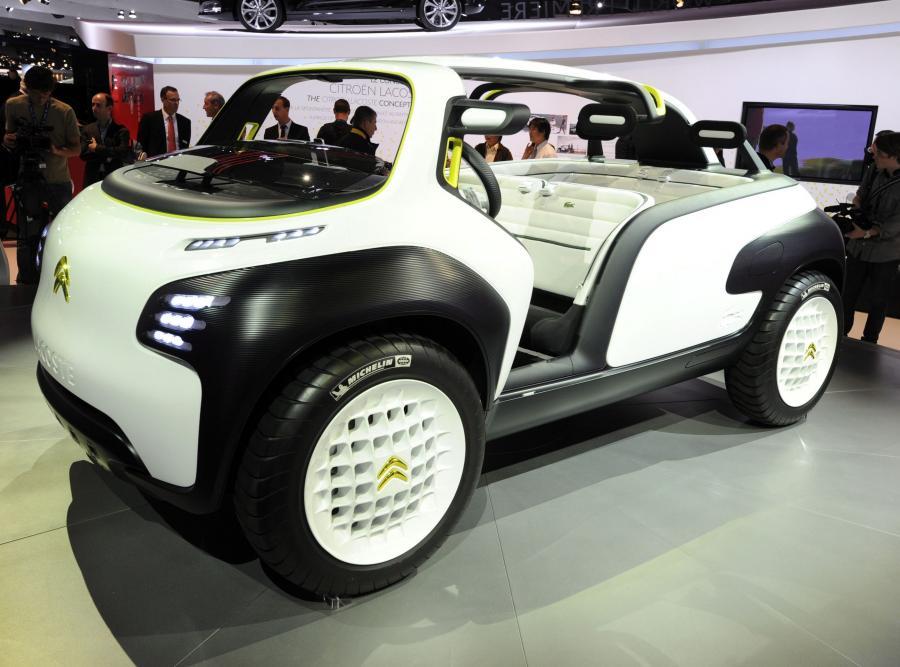 Lacoste - samochód koncepcyjny Citroena