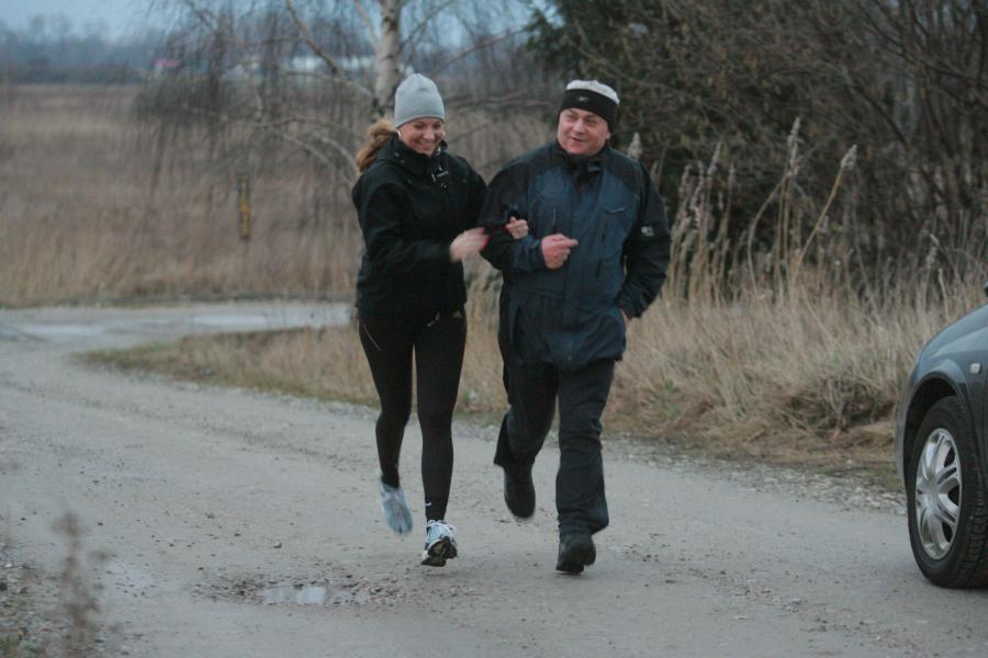Słynna para z Samoobrony podczas joggingu