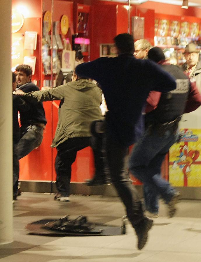 Niemiec wziął zakładnika na berlińskiej ulicy