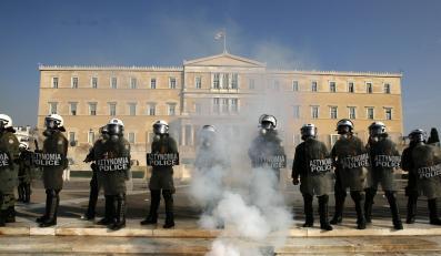 Kolejny strajk paraliżuje Ateny